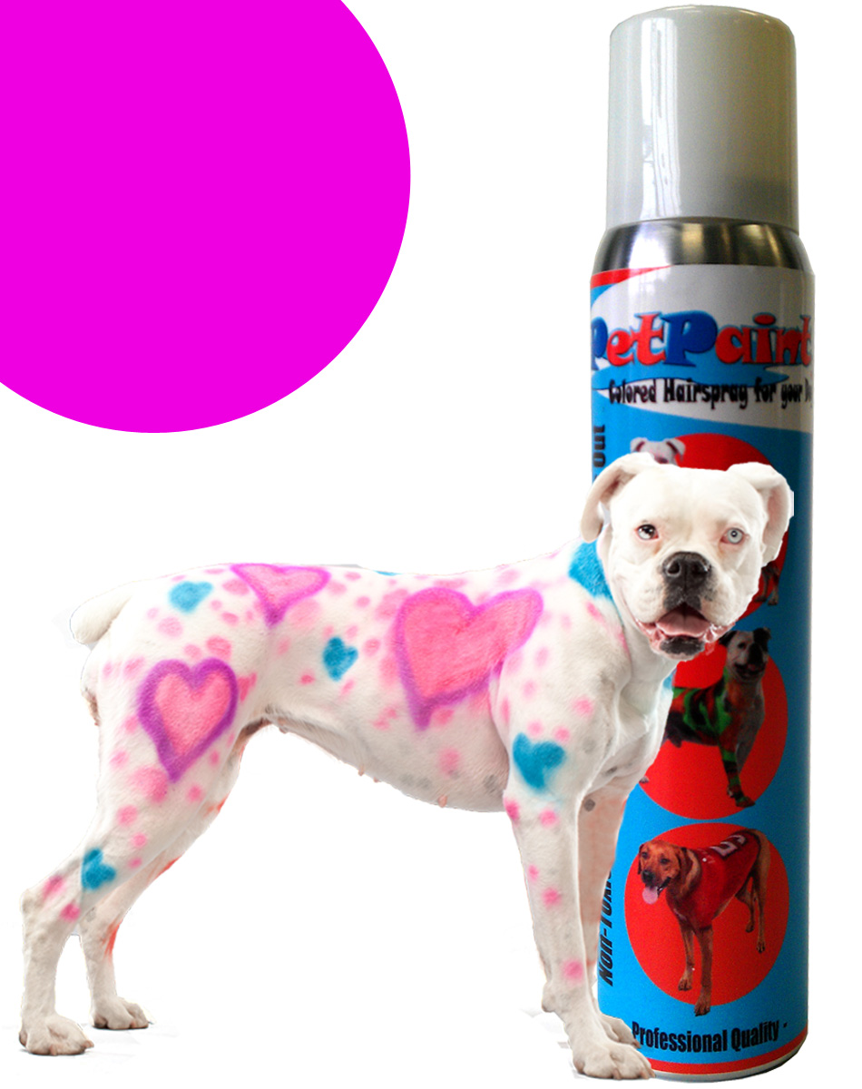 Pink Dog Spray is Perfect for Halloween